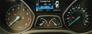 Ford Focus Instrument Cluster Faults