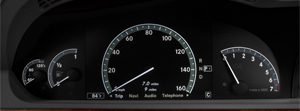 Mercedes S Class Instrument Cluster Faults